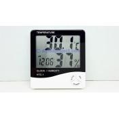 เครื่องวัดอุณหภูมิและความชื้น ไฮโกรมิเตอร์ เทอร์โมมิเตอร์ ดิจิตอล  (6)